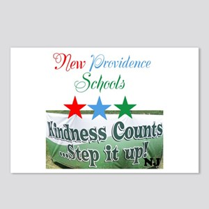 Kindness Counts. New Postcards (package Of 8)