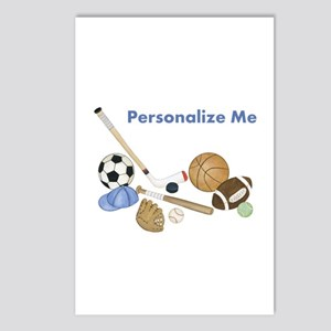 Personalized Sports Postcards (package Of 8)