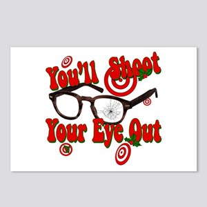 You'll shoot your eye out Postcards (Package of 8)