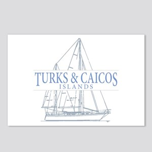 Turks and Caicos - Postcards (Package of 8)