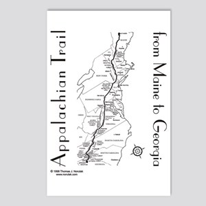 Appalachian Trail Postcards - CafePress