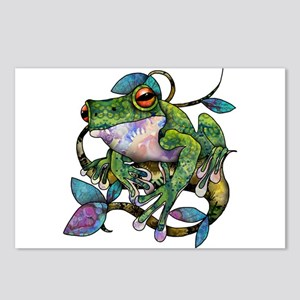 Wild Frog Postcards (Package of 8)