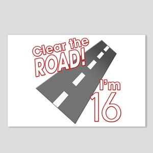 Clear the Road I'm 16 Postcards (Package of 8)