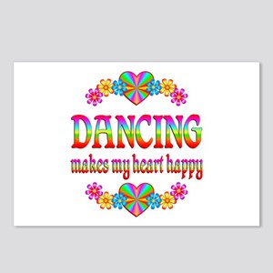 Dancing Happy Postcards (Package of 8)