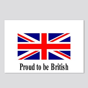 Proud to be British Postcards (Package of 8)