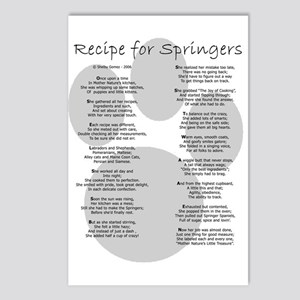 Recipe for Springers Postcards (Package of 8)