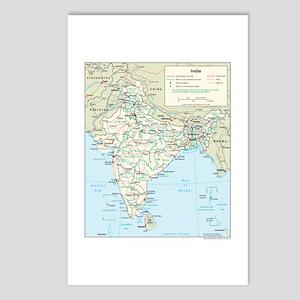 India Postcards - CafePress