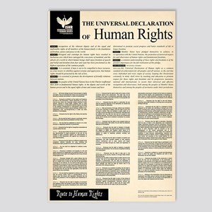 ISHR Human Rights Poster Postcards (Package of 8)