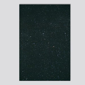 Cassiopeia constellation Postcards (Package of 8)