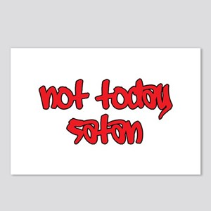 Not Today Satan Postcards (Package of 8)