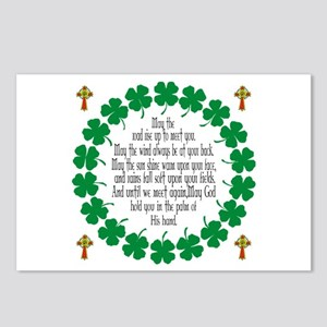 Irish Prayer Blessing Postcards (Package of 8)