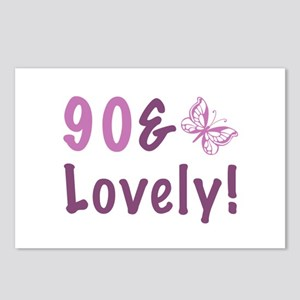 90 & Lovely Postcards (Package of 8)