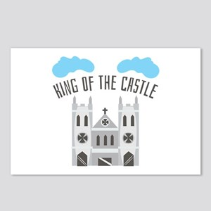 King Of Castle Postcards (Package of 8)