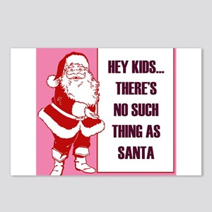 no such thing as santa Postcards (Package of 8)