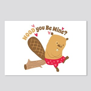Wood You Be Mine Postcards (Package of 8)