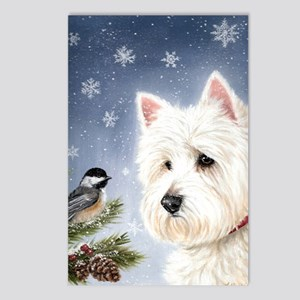 Westie Rescue Postcards - CafePress