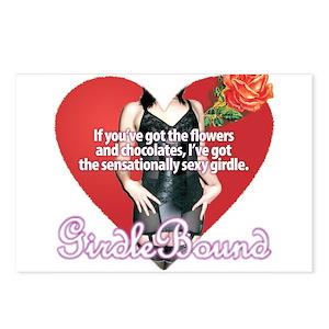 6acbe52118d4c GirdleBound Valentine Postcards (Package of 8)