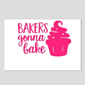 BAKERS GONNA BAKE Postcards (Package of 8)