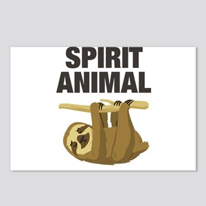 Sloth is my Spirit Animal Postcards (Package of 8)