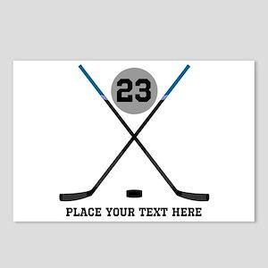 Hockey Stick Postcards - CafePress