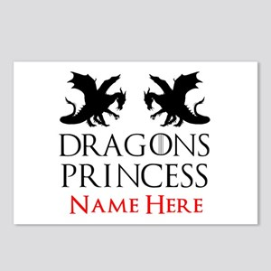 Dragons Princess Personal Postcards (Package of 8)