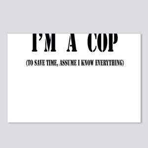 I'm a Cop Postcards (Package of 8)