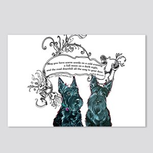 Scottish Terrier Proverb Postcards (Package of 8)