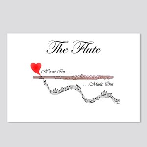 'The Flute' Postcards (Package of 8)