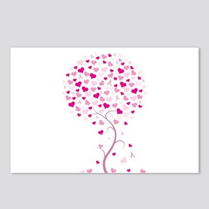 Pink Ribbon Tree - Tree of Ho Postcards (Package o