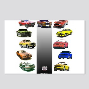 Mustang Gifts Postcards (Package of 8)