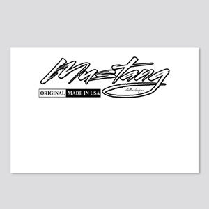 mustang Postcards (Package of 8)