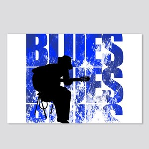 blues guitar Postcards (Package of 8)