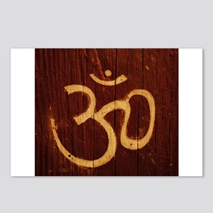 OM Carving Postcards (Package of 8)