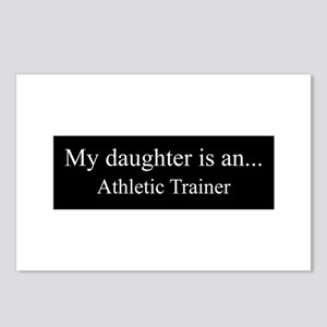 Daughter - Athletic Trainer Postcards (Package of