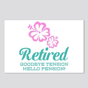 Funny retirement Postcards (Package of 8)