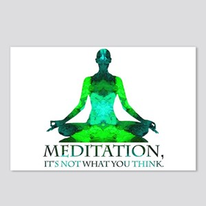 Meditation Postcards (Package of 8)