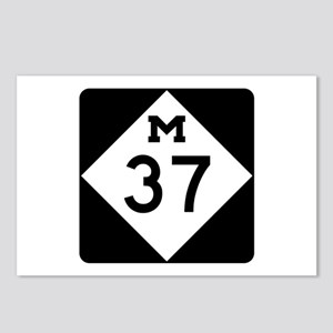 M-37, Michigan Postcards (Package of 8)
