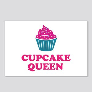 Cupcake baking queen Postcards (Package of 8)