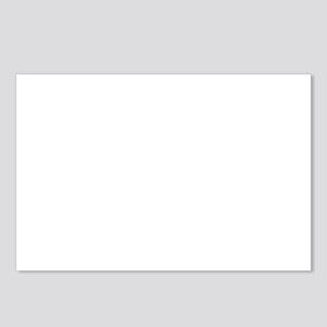 USN with Flag and Anchor Postcards (Package of 8)