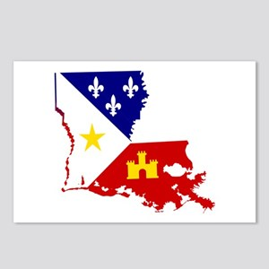 Acadiana State of Louisia Postcards (Package of 8)
