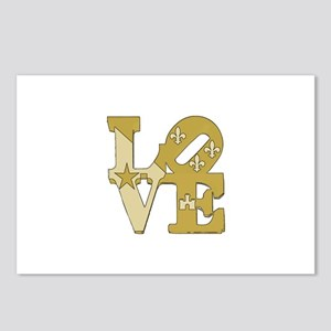 love gold Postcards (Package of 8)