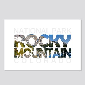 Rocky Mountain - Colorado Postcards (Package of 8)