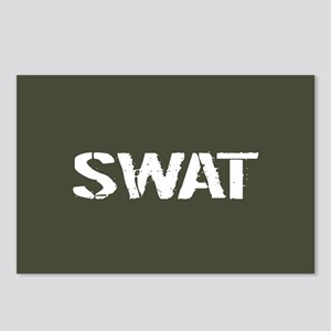 Police: SWAT (Stencil) Postcards (Package of 8)