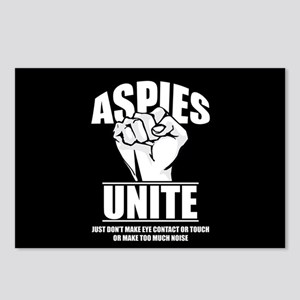 Aspies Unite Postcards (Package of 8)