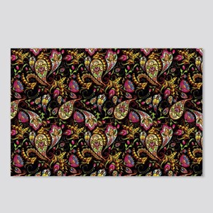Pretty paisley Postcards (Package of 8)