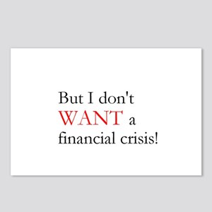 Financial Crisis Postcards (Package of 8)