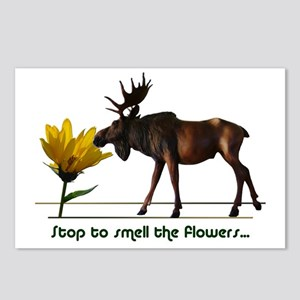 Stop To Smell The Flowers Postcards (Package of 8)