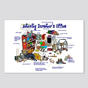 My Activities Office (gals) Postcards (Package of