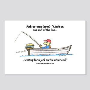 defintion: fisherman Postcards (Package of 8)