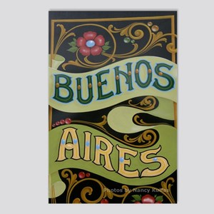 Buenos Aires fileteado Postcards (Package of 8)